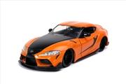 Fast and Furious 9 - 2020 Toyota Supra Metallic Orange 1:24 Scale Hollywood Ride | Merchandise