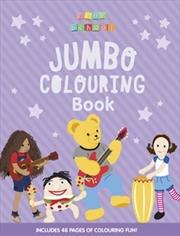 Play School Jumbo Colouring Book   Paperback Book