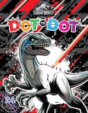 Jurassic World - Dot-to-Dot | Paperback Book