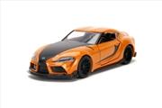 Fast and Furious 9 - 2020 Toyota Supra Metallic Orange 1:32 Scale Hollywood Ride | Merchandise