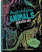 Scratch Art - Australian Animals   Hardback Book