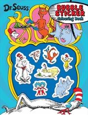 Dr Seuss Bubble Sticker | Paperback Book