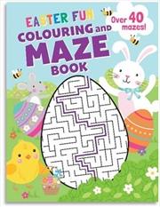 Easter Fun Maze Book   Paperback Book