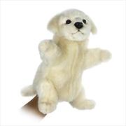 Maremma Puppy 28cm Puppet | Toy