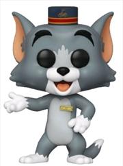 Tom and Jerry (2021) - Tom with Hat Pop! Vinyl   Pop Vinyl