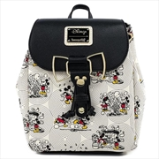 Loungefly - Mickey Mouse Bow Hardware Backpack | Apparel