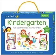 Kindergarten Fun Educational Activity Case | Paperback Book