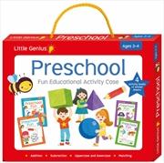 Activity Case - Preschool Little Genius   Paperback Book