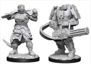 Starfinder - Deep Cuts Unpainted Miniatures: Vesk Soldier | Games