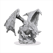Dungeons & Dragons - Nolzur's Marvelous Unpainted Minis: Young Blue Dragon | Games