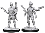 Starfinder - Deep Cuts Unpainted Miniatures: Kasatha Operative | Games