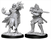 Dungeons & Dragons - Nolzur's Marvelous Unpainted Minis: Hobgoblin Fighter Male & Wizard Female | Games