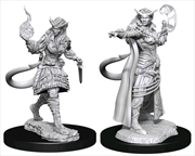 Dungeons & Dragons - Nolzur's Marvelous Unpainted Minis: Tiefling Sorcerer Female | Games