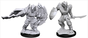 Dungeons & Dragons - Nolzur's Marvelous Unpainted Minis: Dragonborn Fighter Male | Games