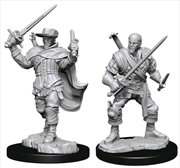 Dungeons & Dragons - Nolzur's Marvelous Unpainted Minis: Human Bard Male | Games