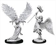 Pathfinder - Deep Cuts Unpainted Miniatures: Balisse & Astral Deva | Games