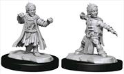 Pathfinder - Deep Cuts Unpainted Miniatures: Halfling Monk Male | Games