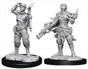 Starfinder - Deep Cuts Unpainted Miniatures: Human Mechanic | Games