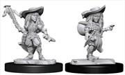 Pathfinder - Deep Cuts Unpainted Miniatures: Gnome Bard Female | Games