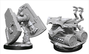 Dungeons & Dragons - Nolzur's Marvelous Unpainted Minis: Stone Defender & Oken Bolter | Games
