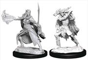 Dungeons & Dragons - Nolzur's Marvelous Unpainted Minis: Winter Eladrin & Spring Eladrin | Games