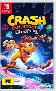 Crash Bandicoot 4: It's About Time | Nintendo Switch