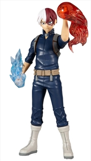 "My Hero Academia - Shoto Todoroki 12"" Action Figure with Light & Sound | Merchandise"