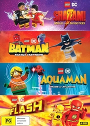 LEGO DC Super Heroes   4-Film Collection   DVD