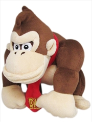 Super Mario Bros Plush Donkey Kong 10' | Toy