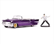 Elvis - 1956 Cadillac Fleetwood 1:24 with Figure Hollywood Ride | Merchandise