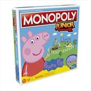 Monopoly Junior Peppa Pig Edition | Merchandise