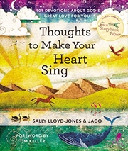 Thoughts to Make Your Heart Sing: 101 Devotions about God's Great Love for You | Hardback Book