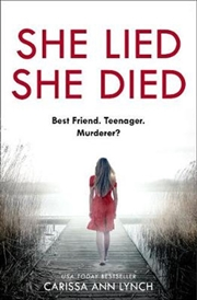 She Lied She Died | Paperback Book