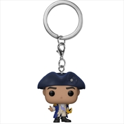 Hamilton - George Washington Pocket Pop! Keychain | Pop Vinyl