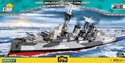 World War II - HMS Belfast Light Cruiser 1:300 Scale 1480 pieces | Miscellaneous