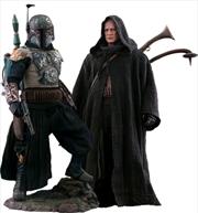 "Star Wars: The Mandalorian - Boba Fett Deluxe 1:6 Scale 12"" Action Figure | Merchandise"