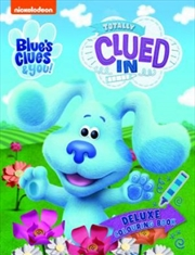 Blues Clues Deluxe Colouring | Paperback Book