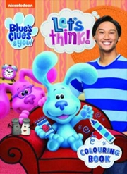 Blues Clues Colouring Book | Paperback Book