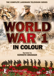 World War 1 In Colour | DVD
