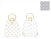 Loungefly - Star Wars - Rebel White Gold Hardware Mini Backpack | Apparel