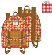 Loungefly - Pokemon - Pikachu Picnic Basket Mini Backpack   Apparel
