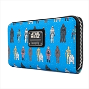 Loungefly - Star Wars - Action Figures Zip Purse | Apparel