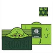 Loungefly - Ghostbusters - Slimer Card Holder | Apparel