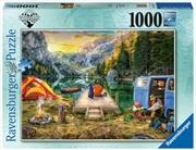 Wanderlust Calm Campsite 1000 Piece Puzzle | Merchandise