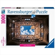 Courtyard Palazzo Pubblico Siena 1000 Piece Puzzle | Merchandise