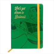 Mulan - Down to Business Premium Notebook | Merchandise