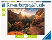 Zion Canyon USA Puzzle 1000 Piece   Merchandise