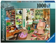 My Haven No 8 The Gardeners Shed 1000 Piece Puzzle | Merchandise