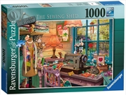 My Haven No 2 The Sewing Shed 1000 Piece Puzzle | Merchandise