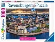 Stockholm Sweden 1000 Piece Puzzle   Merchandise